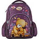 Рюкзак школьный Kite Education для девочек Popcorn the Bear 37,5x29x13 см 13,5 л Фиолетовый (PO19-518S), фото 2