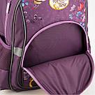 Рюкзак школьный Kite Education для девочек Popcorn the Bear 37,5x29x13 см 13,5 л Фиолетовый (PO19-518S), фото 7