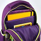 Рюкзак школьный Kite Education для девочек Fairy 37,5x29x13 см 13,5 л Фиолетовый (K19-518S), фото 5