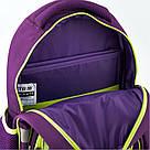 Рюкзак школьный Kite Education для девочек Fairy 37,5x29x13 см 13,5 л Фиолетовый (K19-518S), фото 6