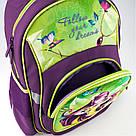 Рюкзак школьный Kite Education для девочек Fairy 37,5x29x13 см 13,5 л Фиолетовый (K19-518S), фото 7