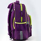 Рюкзак школьный Kite Education для девочек Fairy 37,5x29x13 см 13,5 л Фиолетовый (K19-518S), фото 9