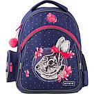 Рюкзак школьный Kite Education для девочек Fluffy bunny 37,5х29х13 см 11,5 л (K19-521S), фото 2