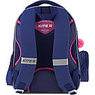 Рюкзак школьный Kite Education для девочек Fluffy bunny 37,5х29х13 см 11,5 л (K19-521S), фото 3