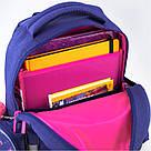 Рюкзак школьный Kite Education для девочек Fluffy bunny 37,5х29х13 см 11,5 л (K19-521S), фото 5