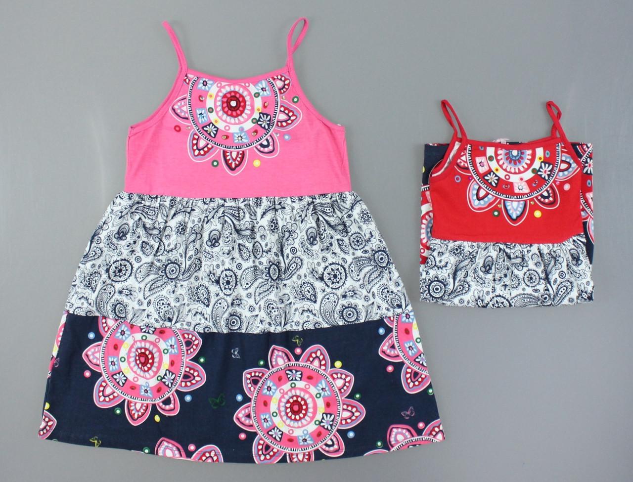Платье для девочек F&D оптом, 4-12 лет. {есть:6 лет}