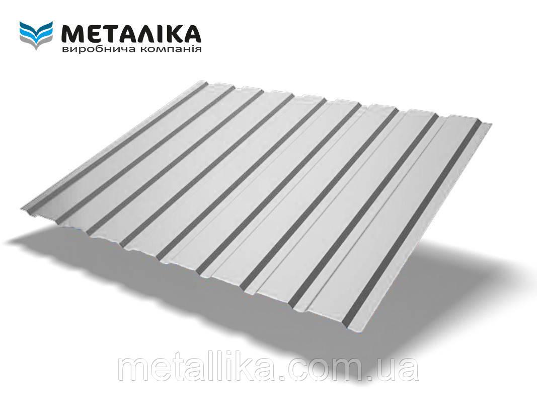 Профнастил стеновой ПС-8 (Турция, AL/Zn, 0,5 мм)