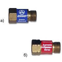 Клапан обратный «ДОНМЕТ» ОБГ м16х1,5LH газовый