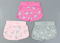 {есть:98,104,110} Трикотажные шорты для девочек S&D, 98-128 рр. [104], фото 1