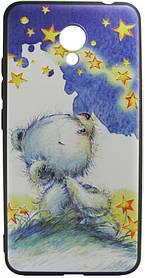 Силикон Meizu M5C 3D Bear
