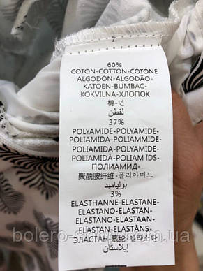 Женские брюки-бриджи летние Италия белые с вышивкой, фото 3