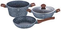 Набор кухонной посуды Berlinger Haus Forest Line 4 предмета гранитное покрытие (psg_BH-1218)