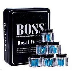 Препарат Boss Royal — природное средство для сильной эрекции 3таб в упак