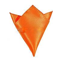 Платок мужской атлас оранжевые (разные цвета)
