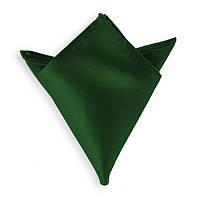 Платок нагрудный мужской зеленый (30 цветов)