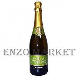 Шампанське Fragolino bianko TOSO, 0,75 літра