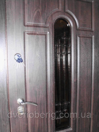 Входная дверь модель Т-1-3 217 vinorit-80 КОВКА , фото 2