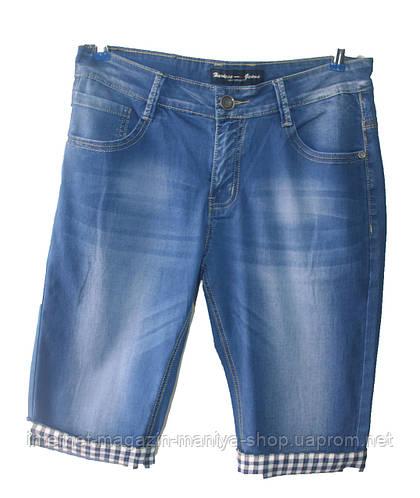 Мужские джинсовые бриджи норма