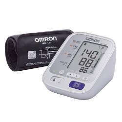 Тонометр автоматический Omron M3 Comfort с манжетой Intelli Wrap + индикатор повышенного давления