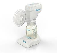 Электрический молокоотсос с ручной системой оттока воздуха, BabyOno 051