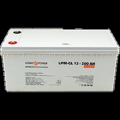 Акумулятор гелевий LPM-GL 12 - 200AH