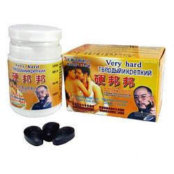 Таблетки Твердый и Крепкий (Very Hard)― растительный препарат усиления потенции. 10таб