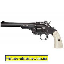 "Пневматический револьвер ASG Schofield 6"" BB"