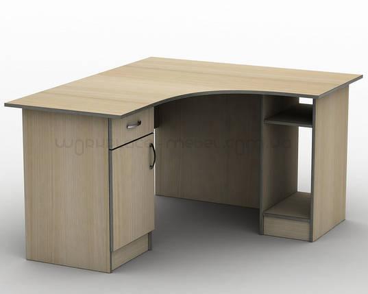 Письменный угловой офисный стол Тиса СПУ-5 1200х1200, фото 2