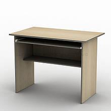 Письмовий прямий офісний стіл Тиса / Tisa СК-1 800х600 (Бюджет) з ДСП