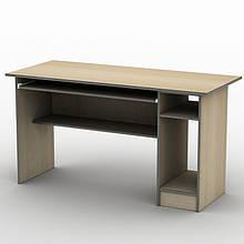 Письмовий прямий офісний стіл Тиса / Tisa СК-2 1200х600 (Бюджет) з ДСП