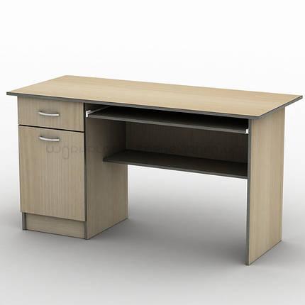 Письменный прямой офисный стол Тиса СК-3 1400х600, фото 2