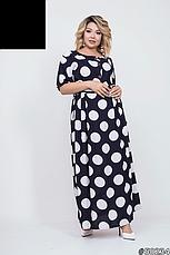 Сукня жіноча літнє, максі, розмір:48-52, фото 3