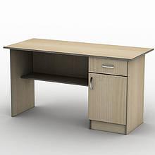 Письмовий прямий офісний стіл Тиса / Tisa СП-2 1400х600 (Бюджет) з ДСП