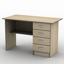 Письмовий прямий офісний стіл Тиса / Tisa СП-3 1400х600 (Бюджет) з ДСП