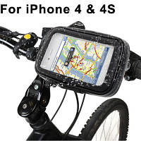 Водонепроницаемый чехол для Samsung Galaxy S III mini / i8190 с креплением на руль велосипеда