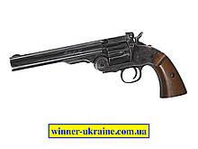 "Пневматический револьвер ASG Schofield 6""корпус металл"