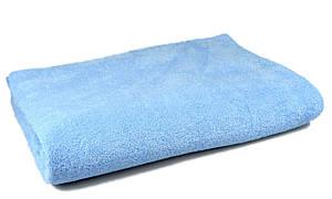 Простынь махровая, 150x200, цвет: голубой