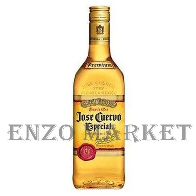 Текила Jose Cuervo Especial Gold (Хосе Куерво Голд) 38%, 1 литр
