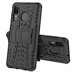Чехол накладка Shield для Samsung Galaxy A20 / A30 / A50 Черный (968945), фото 2