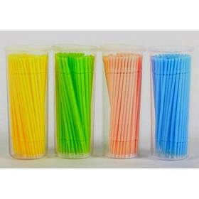 Палочки (микробраши) для снятия и коррекции ресниц, 100 шт