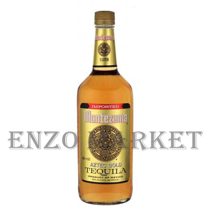 Текила Montezuma Gold (Монтезума Голд) 40%, 1 литр