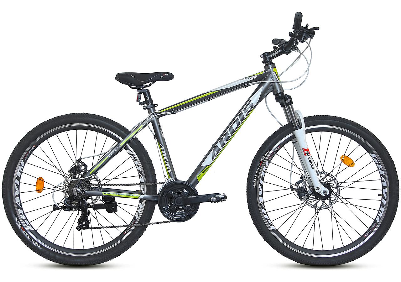 """Горный велосипед ARDIS TERRA MTB 27.5"""" Серый/Салатовый"""