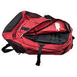 Женский городской рюкзак The North Face Melinda 30L бордового цвета, фото 5