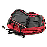 Женский городской рюкзак The North Face Melinda 30L бордового цвета, фото 6