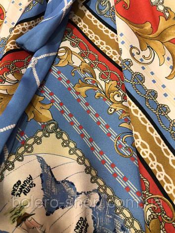 Женское платье Италия разноцветное макси, фото 2