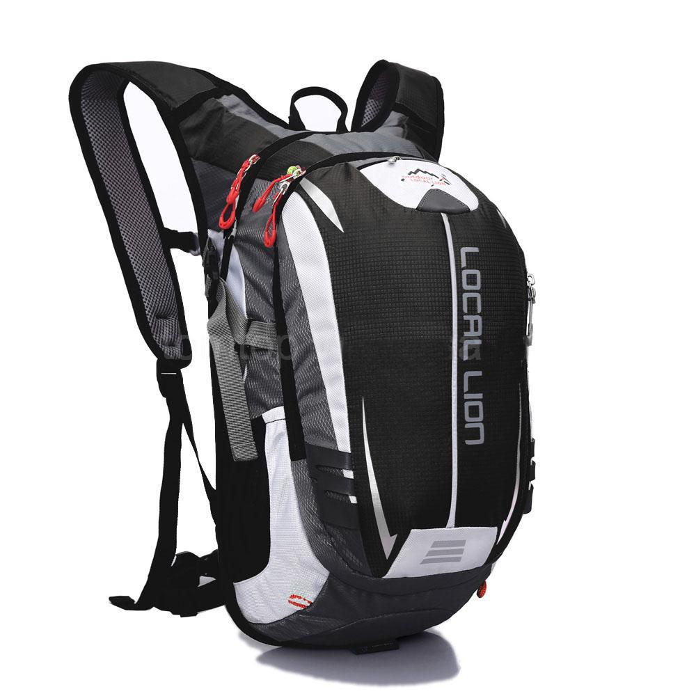 Велосипедный рюкзак LOCAL LION 18L, чёрно-белый