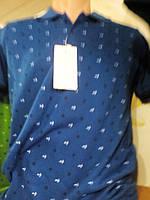 Рубашка Поло мужская  якорь