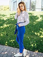 Женские летние брюки с высокой посадкой