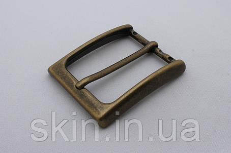 Латунная ременная пряжка, ширина - 35 мм, артикул СК 5490, фото 2