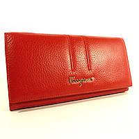 Кошелек кожаный классический  Salvatore Ferragamo 4381 красный в наличии